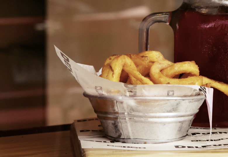 pommes frites pro person in gramm