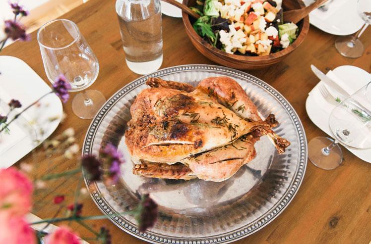 hähnchen garen im Ofen