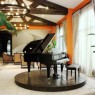 Salon mit Klavierflügel