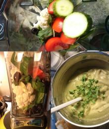 Bianco puro: Suppe aus Gemüse