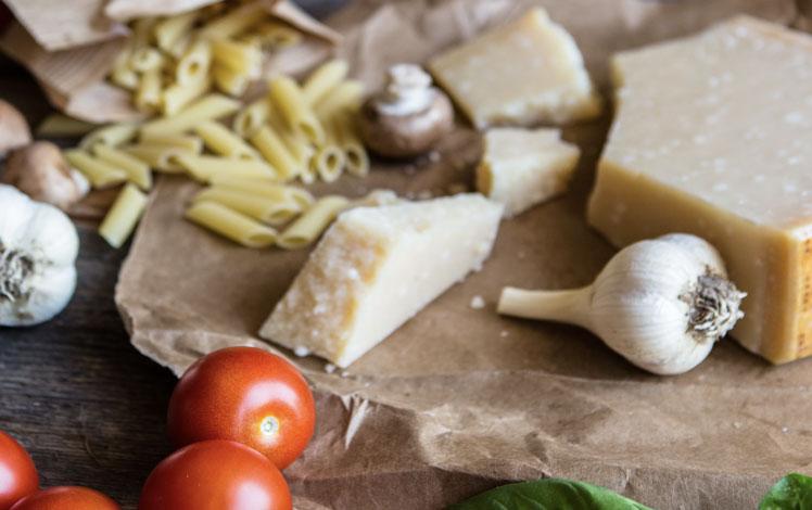 parmesan aufbewahren