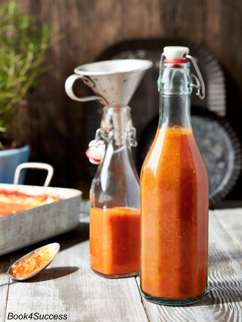 Rezept: Hausgemachter Tomatenketchup ohne Zucker