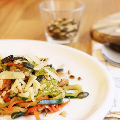Rezept Gemüsenudeln