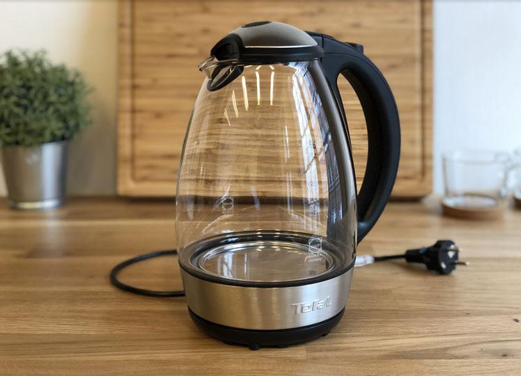 Der Tefal wasserkocher aus Glas ist unser Testsieger