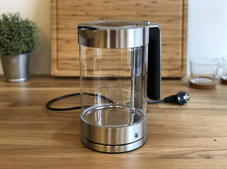 wmf wasserkocher LONO glas test