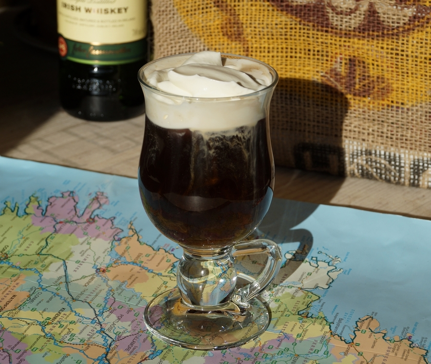 Irish Coffee Rezept (mit irischem Whisky)