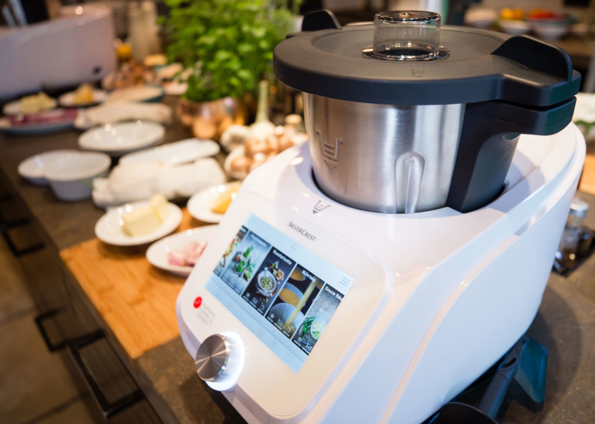 Thermomix Alternative Von Lidl Monsieur Cuisine Connect Im Test 2018