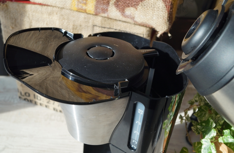 füllstandanzeige philips gaia kaffeemaschine wassertank