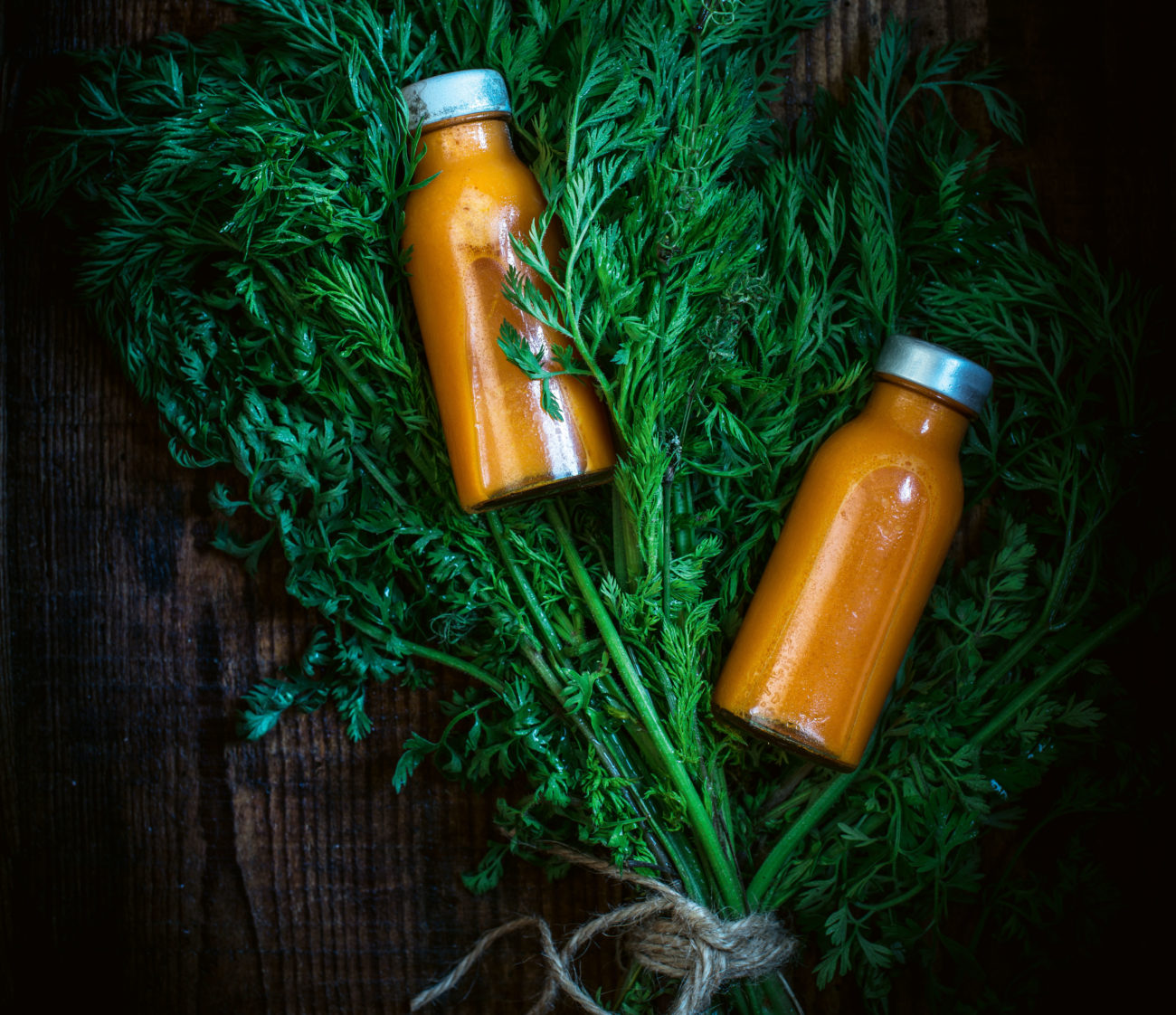 Für's Immunsystem: Möhren-Ingwer-Zitronen-Shots