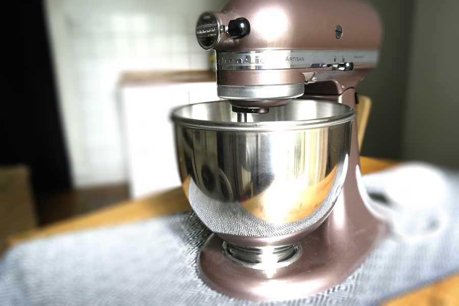 kitchenaid artisan in braun im test