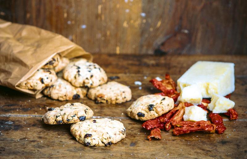 Rezept für Tomaten-Cookies mit Käse