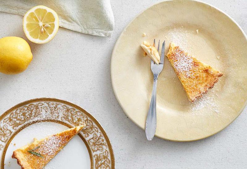 Rezept für Zitronentarte ohne Zucker