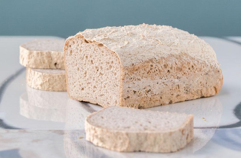 Rezept für glutenfreies Brot