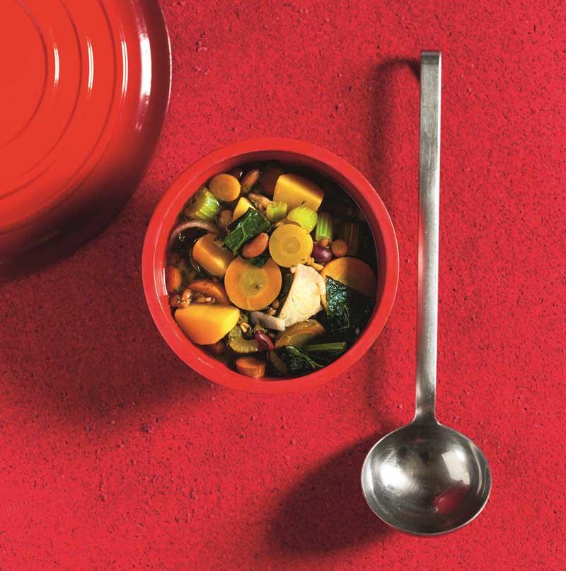Schnelles Rezept für einen Zero-Waste-Gemüseeintopf
